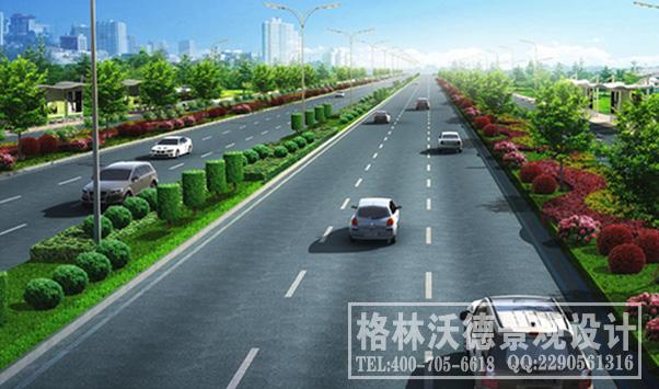 芙蓉南路道路景观设计