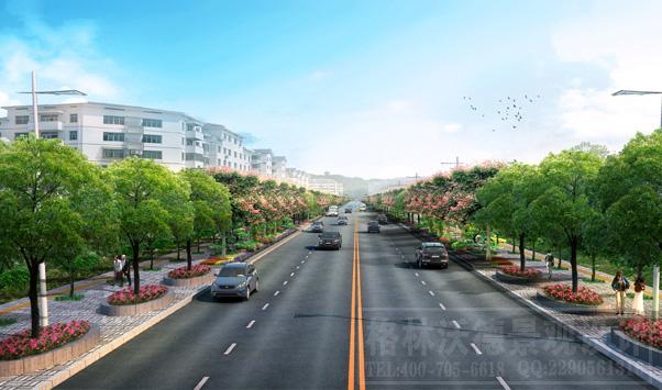 禹王路绿化设计
