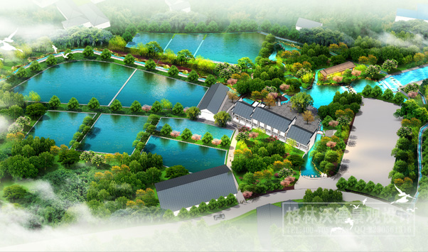 农家乐景观_农业观光园规划