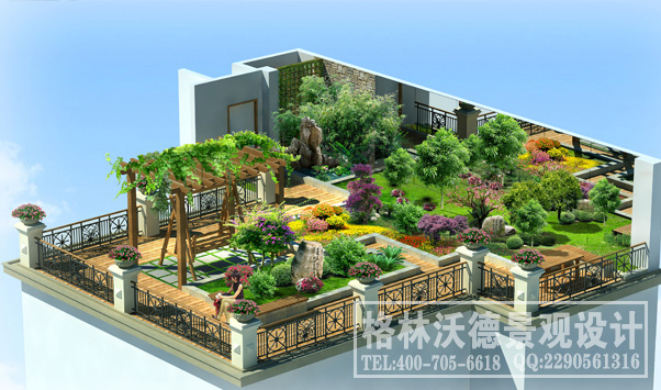 庭院屋顶花园|格林沃德